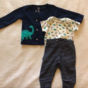 Carter's Just One You baby boy dinosaur outfit